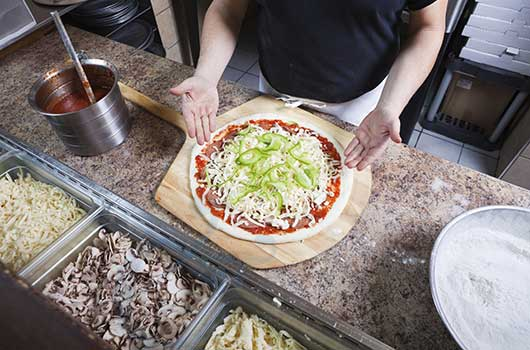 курсове за готвачи - курс за пицар